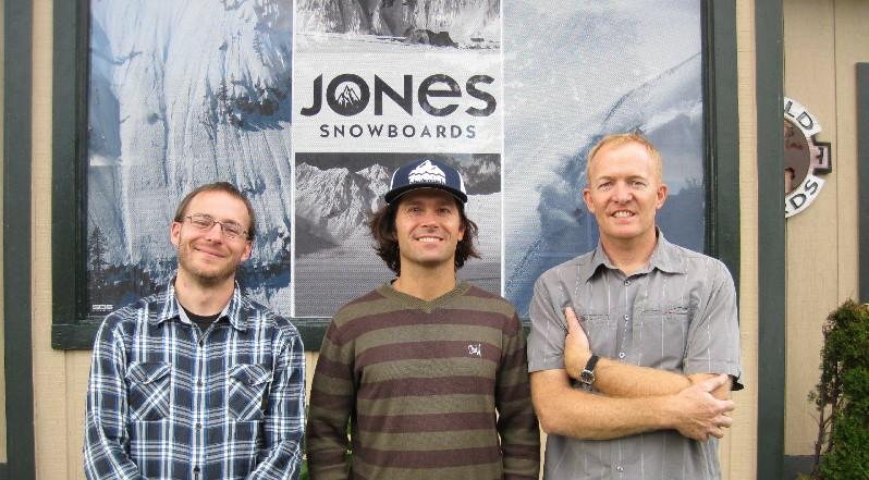 World Boards Snowboard Shop - Coops, Jeremy & Jay